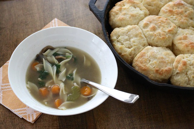 homemade-chicken-noodle-soup-buttermilk-biscuits