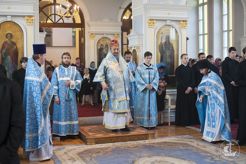 21 сентября 2014, Рождество Пресвятой Богородицы / 21 September 2014, The Nativity of the Theotokos