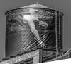 Woman on the Water Tower