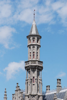 Bruges upright tower