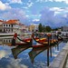 The sky cleared up after a day of rain in Aveiro by B℮n