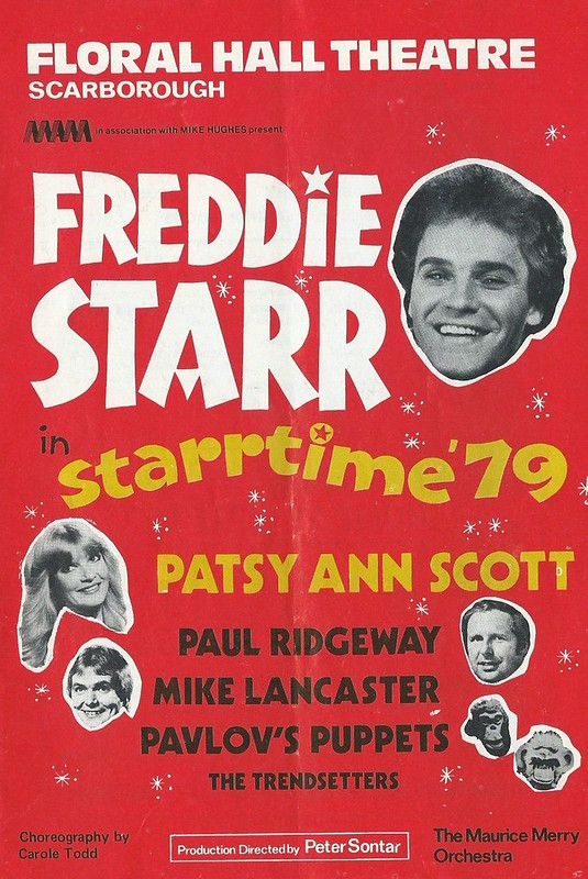 Floral Hall Programme: Freddie Starr