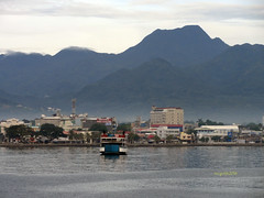 Dumaguete City over-looking Rizal Boulevard