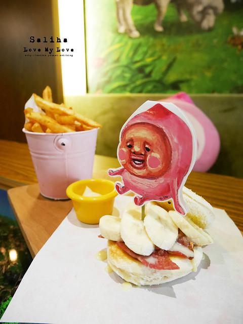 台北東區主題餐廳醜比頭的秘密花園輕食咖啡屁桃 (34)