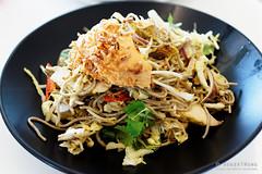 20161112-10-Chicken satay noodle salad at MONA in…