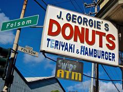 J. Georgie's Donuts Teriyaki & Ham