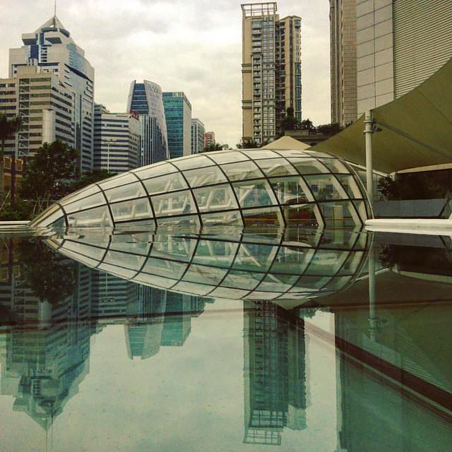 #design #architecture #reflection #water #glass #city #landscape