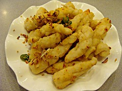 Deep Fried Squid with Peppery Salt