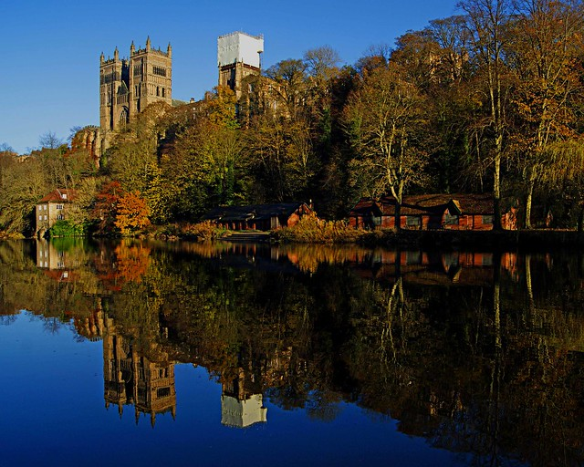 Durham Cathedral & Mill landscape reflection