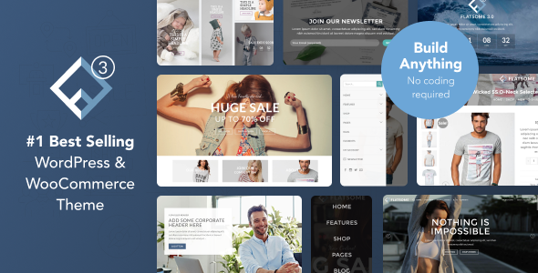 Flatsome v3.4.0 – Multi-Purpose Responsive WooCommerce Theme