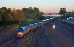 The Empire Builder at Sunrise
