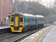 Cheltenham: Arriva Trains Wales Class 158, Cheltenham Spa (Gloucestershire)