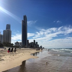 Lovely #goldcoast arvo #beachlife  #niceday #beachwalk