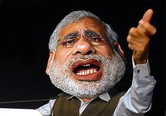 Narendra Modi - Caricature