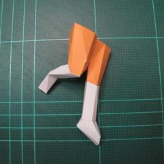 วิธีทำโมเดลกระดาษตุ้กตา คุกกี้รสราชินีสเก็ตลีลา จากเกมส์คุกกี้รัน (LINE Cookie Run Skating Queen Cookie Papercraft Model) 023