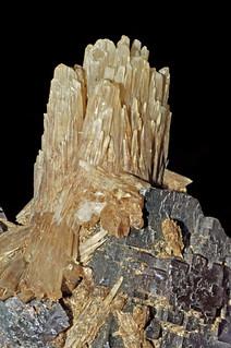 fluorite, baryte (barite)