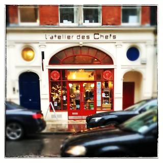 L'Atelier des Chefs cookery school, London