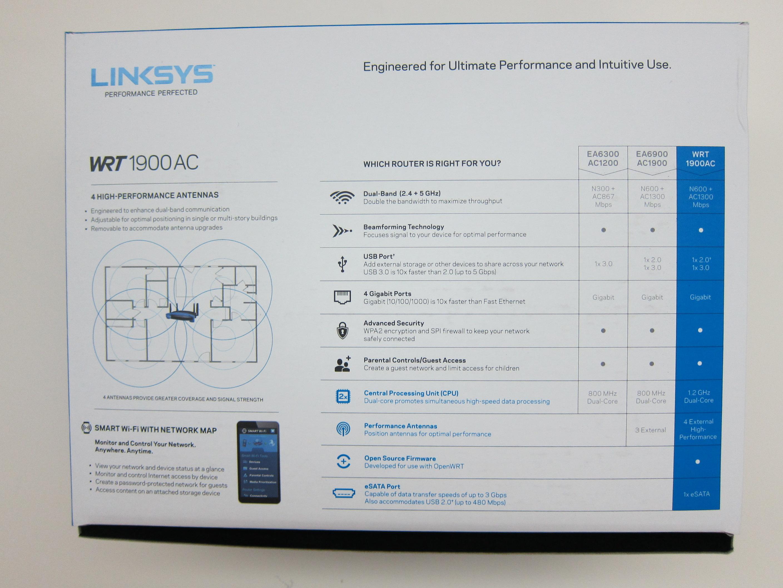 Linksys WRT1900AC Router Review « Blog | lesterchan.net