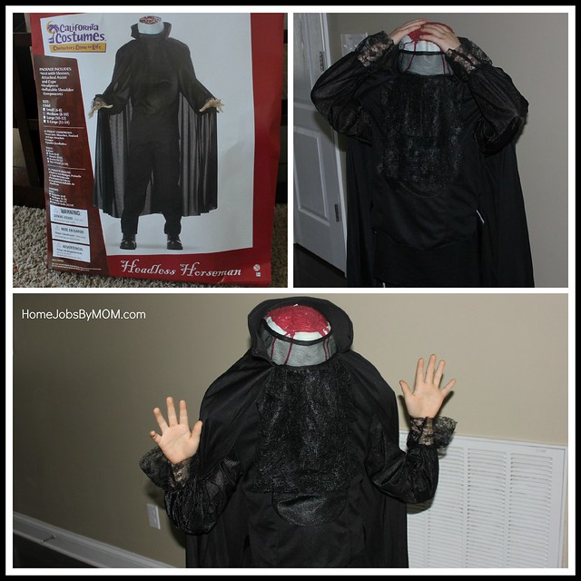 Horror Costumes for Kids: Headless Horseman Kids Costume Review