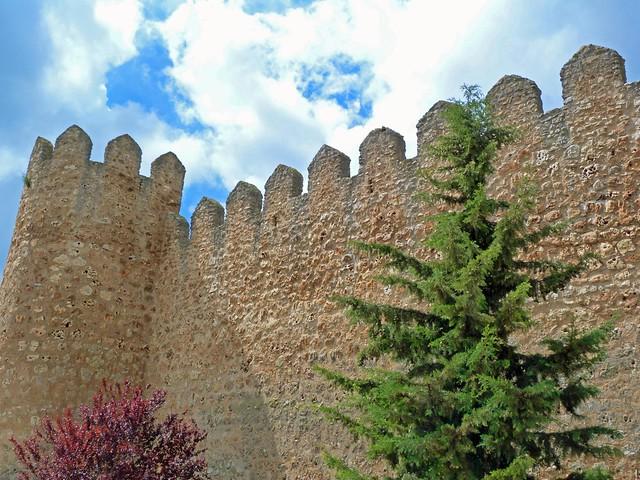 Muralla almenada de Urueña (Valladolid)