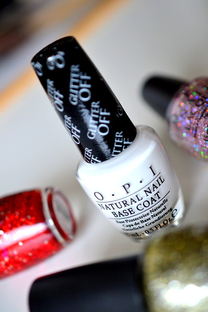 OPI Glitter Off nail polish