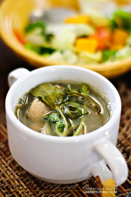 Sinigang at Santino's Grill in Coron