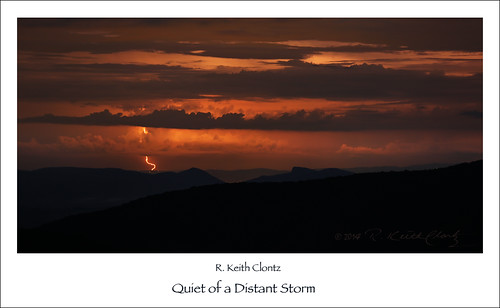 Quiet of a Distant Storm by R. Keith Clontz