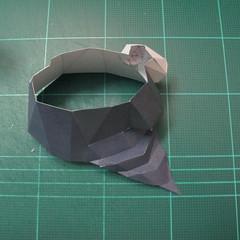 วิธีทำโมเดลกระดาษของเล่นคุกกี้รัน คุกกี้รสพ่อมด (Cookie Run Wizard Cookie Papercraft Model) 040