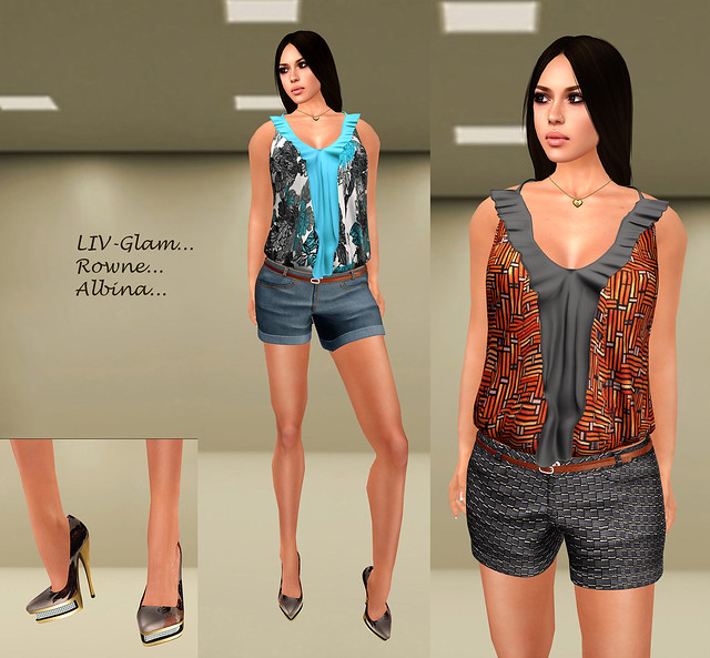 LIV-Glam for Chic La Mode