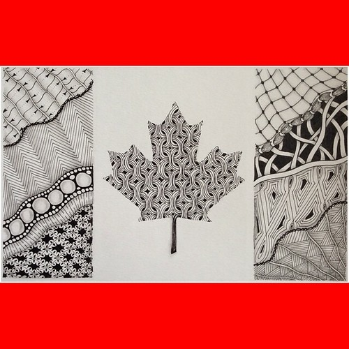 ZIA 20 - A Tangled Flag. Happy Canada Day!