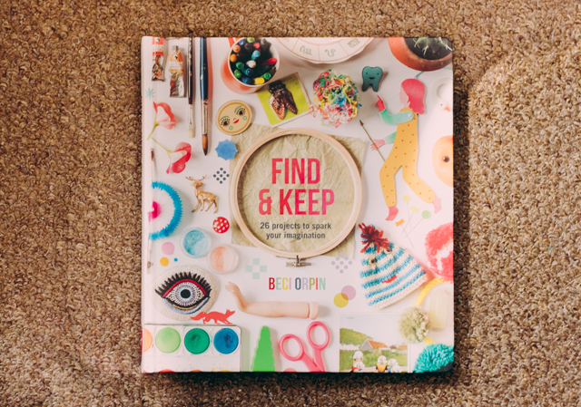 book review // find & keep by beci orpin