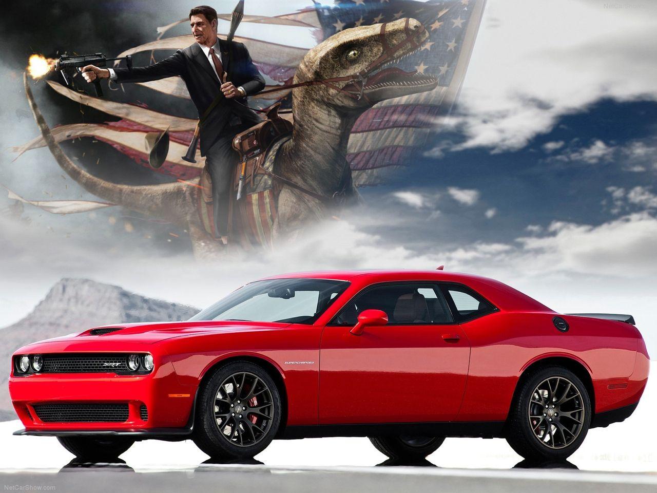 Dodge Challenger Hellcat Ronald Reagan