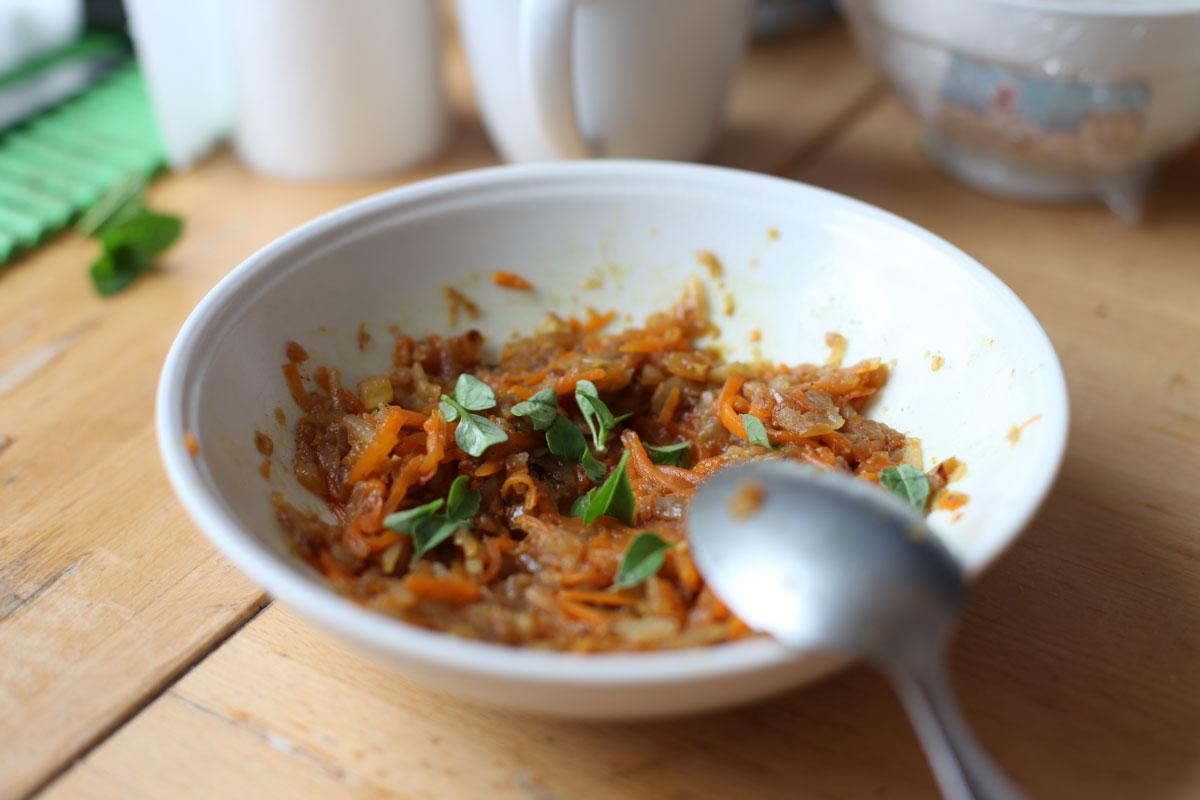 Vegan Carrot & Radish Filling