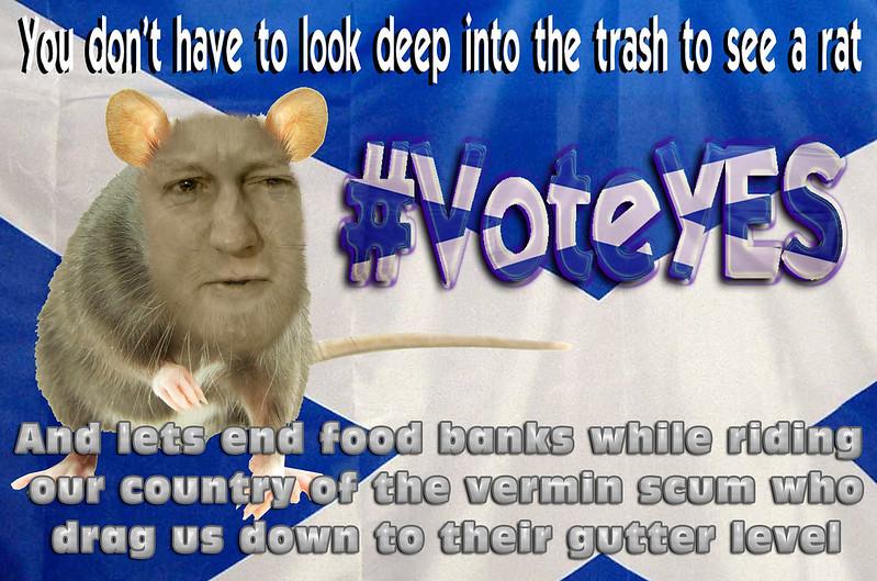 vermin scum #voteYES