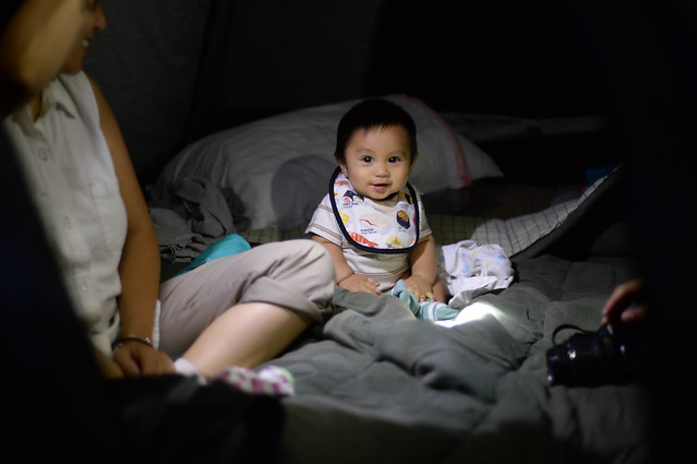 isaiah in their tent
