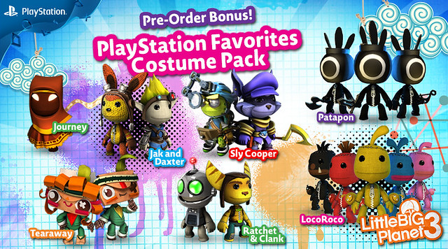 PlayStation Favourites Costume Pack