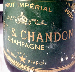 1988 Moet & Chandon Champagne at Troquet