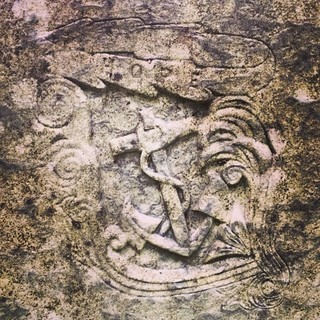 #Hope. #anchor #sailing #newengland #cemetery #bluehill #maine #carving #stone