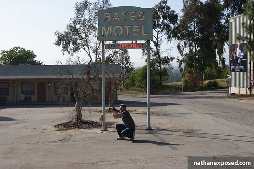Nathan at the Bates Motel