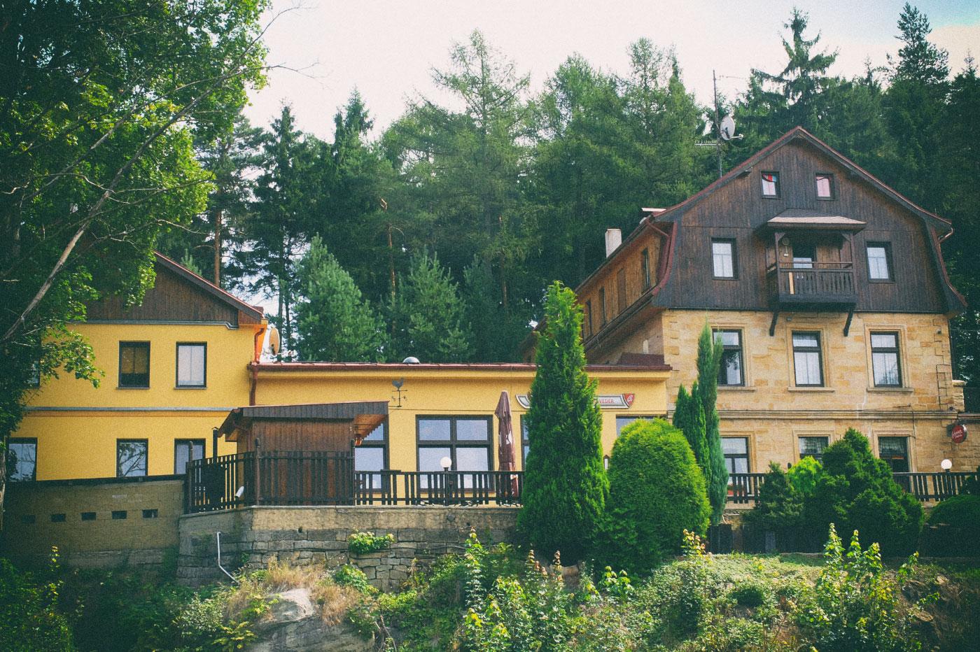 Belvedere, Böhmische Schweiz