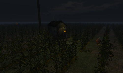 Cornfield In Second Life