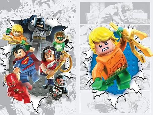 DC Comics LEGO Justice League #36 & Aquaman #36