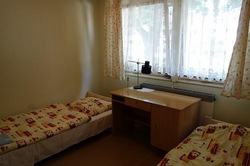 ホステル部屋