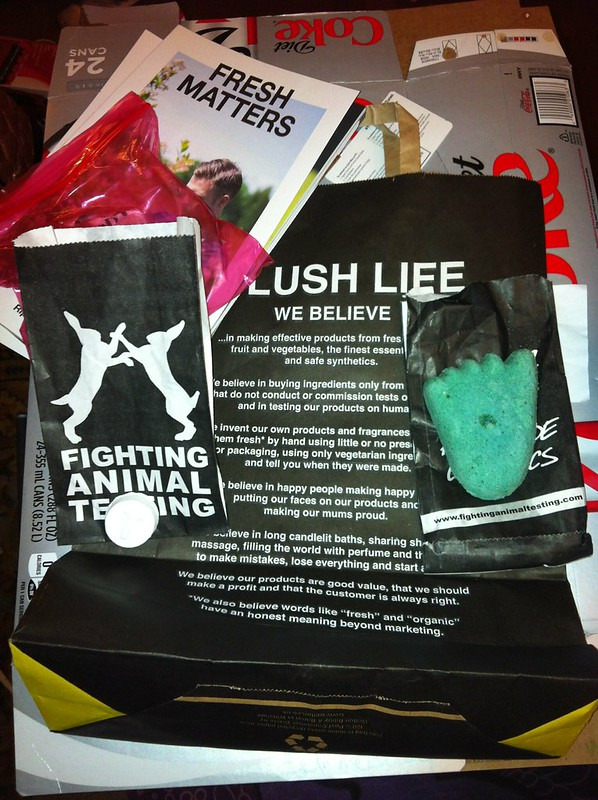 Lush, short pump mall