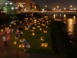 京の七夕:鴨川会場|Kyoto Tanabata Festival Kamogawa Site