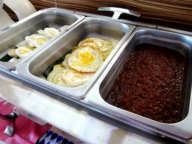 Sambal and egg