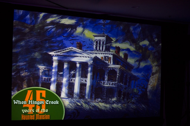 Haunted Mansion 45th anniversary panel at ScareLA