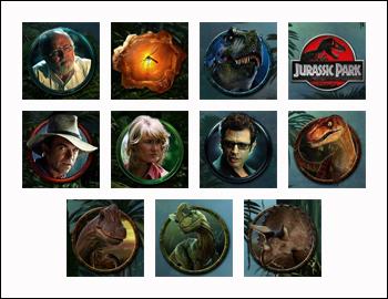 free Jurassic Park slot game symbols