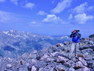 Andreas on Top of Holy Cross Ridge