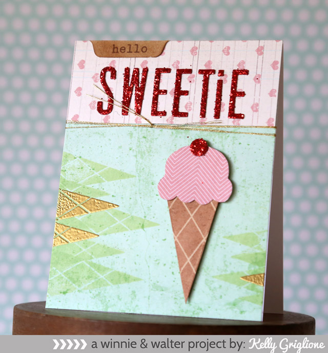 kelly_Pennant Hello Sweetie Card